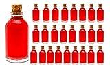 casavetro - Botellas pequeñas de 100 ml, Incluye tapón de Corcho, para Licor,...