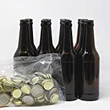 Set Botellas y chapas para elaborar cerveza en casa | El complemento perfecto |...