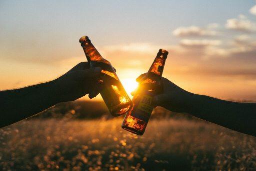 Botellas de Cerveza de Cristal